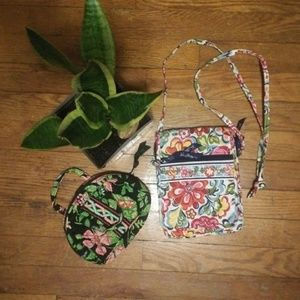 Vera Bradley Purse & Make-up bag